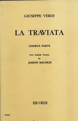 VERDI - The Traviata Choir - Partition - di-arezzo.com