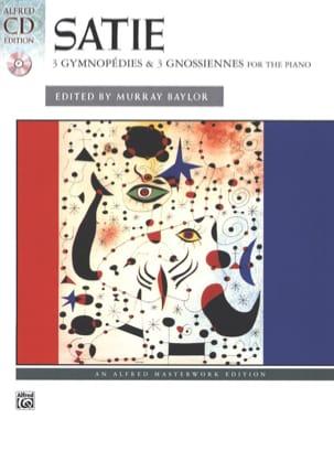 3 Gymnopédies And 3 Gnossiennes SATIE Partition Piano - laflutedepan