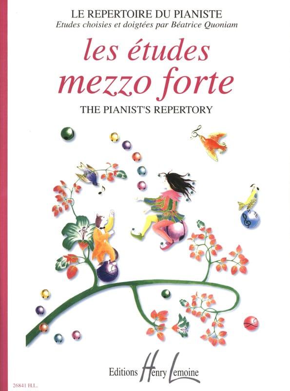 Les Etudes Mezzo Forte - Partition - Piano - laflutedepan.com