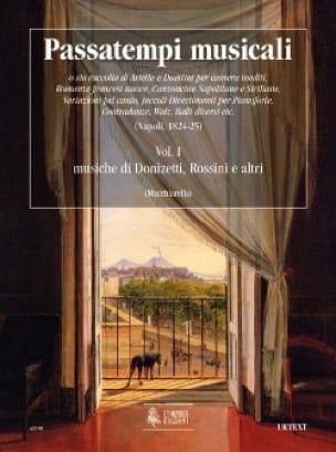 Passatempi Musicali Volume 1 - Partition - laflutedepan.com