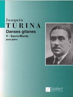 Sacro-Monte Opus 55-5 TURINA Partition Piano - laflutedepan