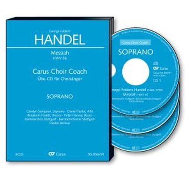 Messiah Hwv 56. 3 CD Alto CHOEUR - HAENDEL - laflutedepan.com