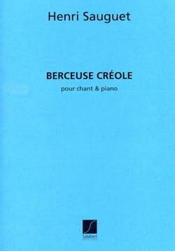 Berceuse Créole Henri Sauguet Partition Mélodies - laflutedepan