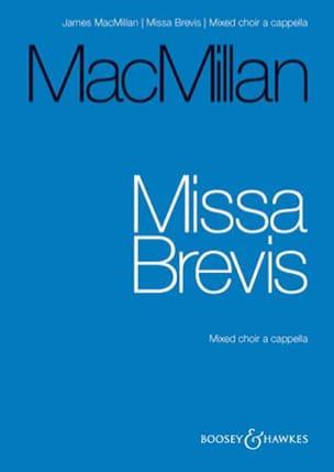 Missa Brevis James Macmillan Partition Chœur - laflutedepan