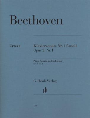 BEETHOVEN - Sonata No. 1 en Fa menor Opus 2-1 - Partition - di-arezzo.es