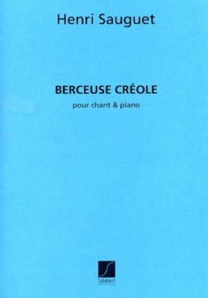 Berceuse Créole - Henri Sauguet - Partition - laflutedepan.com