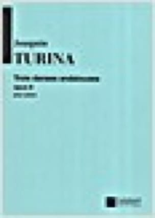 3 Danses Andalouses Opus 8 - TURINA - Partition - laflutedepan.com