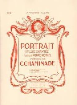 Portrait Cécile Chaminade Partition Flûte traversière - laflutedepan