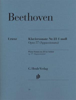 BEETHOVEN - Sonata No. 23 en Fa menor Opus 57 - Partition - di-arezzo.es