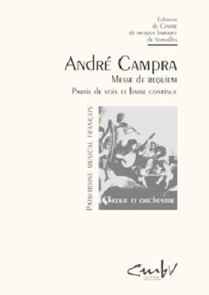 Requiem - CAMPRA - Partition - Chœur - laflutedepan.com