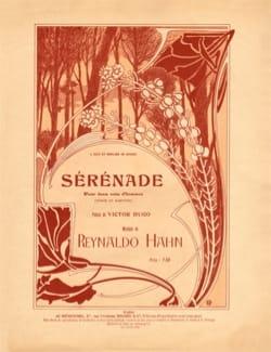Sérénade Reynaldo Hahn Partition Duos - laflutedepan