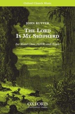 The Lord is my Shepherd RUTTER Partition Chœur - laflutedepan