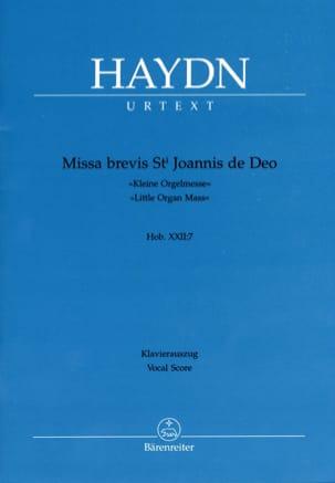 Missa Brevis Sancti Joannis de Deo. Hob 22-7 HAYDN laflutedepan