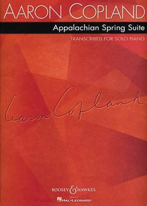 Aaron Copland - Appalachian Spring Suite - Partition - di-arezzo.co.uk