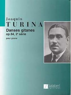 Danses Gitanes, Opus 84, 2ème Série TURINA Partition laflutedepan