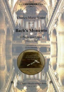 Bach's Memento WIDOR Partition Orgue - laflutedepan