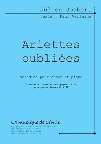 Ariettes Oubliées - SAB - Julien Joubert - laflutedepan.com
