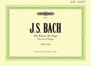 Die Kunst Der Fuge BWV 1080 BACH Partition Orgue - laflutedepan