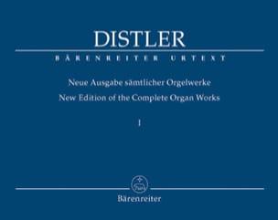 Neue Ausgabe Sämtlicher Orgelwerke Volume 1 Hugo Distler laflutedepan