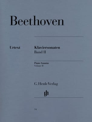 Sonates Pour Piano, Volume 2 BEETHOVEN Partition Piano - laflutedepan