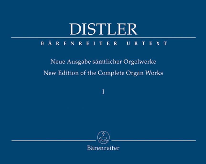 Neue Ausgabe Sämtlicher Orgelwerke Volume 1 - laflutedepan.com