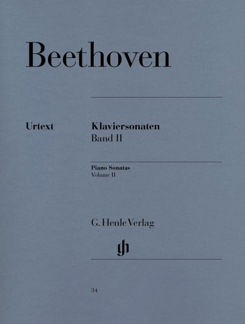 Sonates Pour Piano, Volume 2 - BEETHOVEN - laflutedepan.com