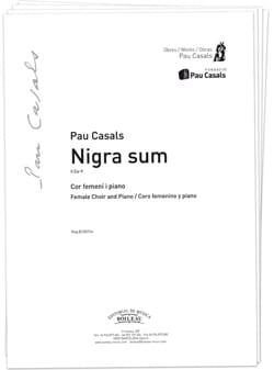 Nigra Sum. TTB Pablo Casals Partition Chœur - laflutedepan
