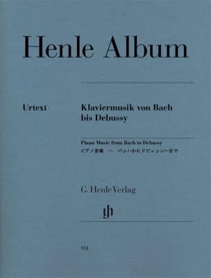 Henle Piano Album Partition Piano - laflutedepan