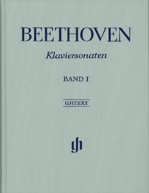 Sonates Pour Piano, Volume 1 - Edition Reliée BEETHOVEN laflutedepan