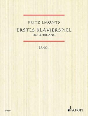 Erstes Klavierspiel Volume 1 Fritz Emonts Partition laflutedepan