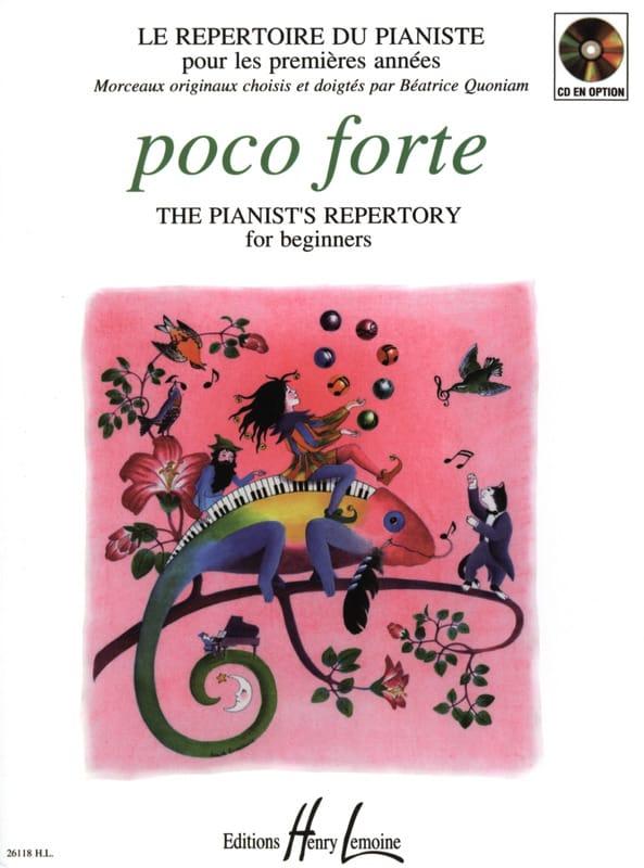 Poco Forte - Partition - Piano - laflutedepan.be