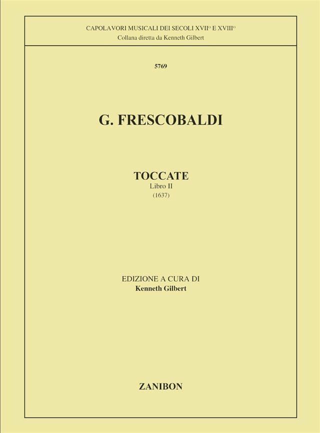 Toccatas. Volume 2 - FRESCOBALDI - Partition - laflutedepan.com