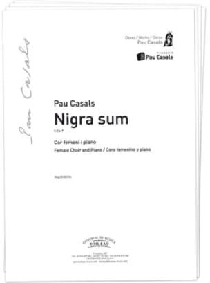 Nigra Sum. TTB - Pablo Casals - Partition - Chœur - laflutedepan.com