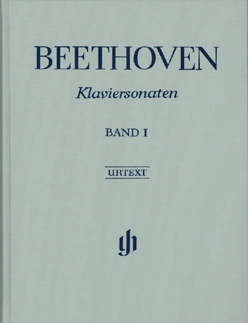 Sonates Pour Piano, Volume 1 - Edition Reliée - laflutedepan.com