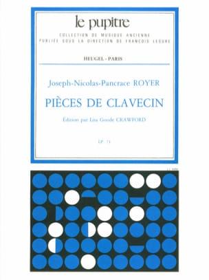 Pièces de Clavecin Royer Pancrace / Crawford Lisa Goode laflutedepan