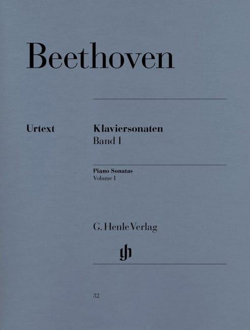 Sonates pour Piano Volume 1 - BEETHOVEN - Partition - laflutedepan.com