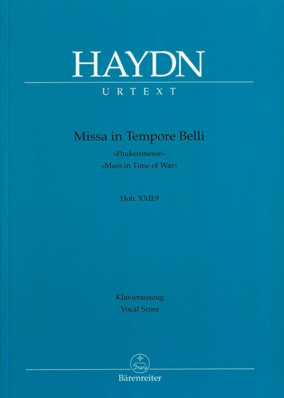 Missa In Tempore Belli Pauken-Messe - HAYDN - laflutedepan.com