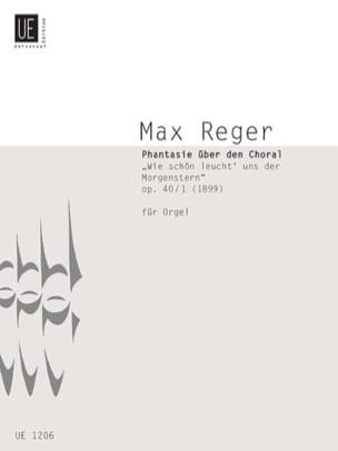 Wie Schön Leucht' Uns Der Morgenstern Op. 40-1 Max Reger laflutedepan