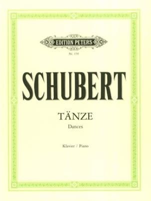 Tänze SCHUBERT Partition Piano - laflutedepan