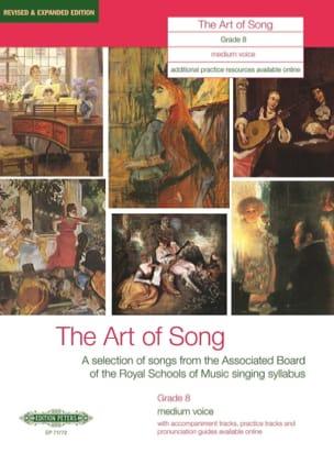 The Art Of Song Grade 8. Voix Moyenne Partition laflutedepan