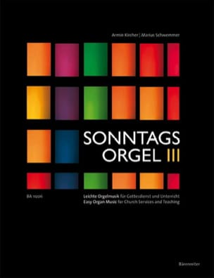 Sonntagsorgel, Volume 3 - Arrangemement de Chorals laflutedepan