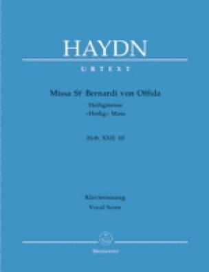 Missa Sancti Bernardi Von Offida. Hob 22-10 - HAYDN - laflutedepan.com