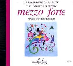 CD - Mezzo Forte - Partition - Piano - laflutedepan.com