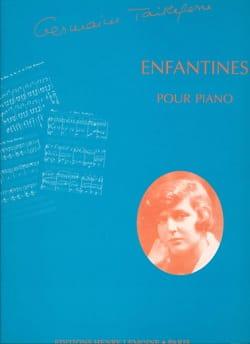 Enfantines Germaine Tailleferre Partition Piano - laflutedepan