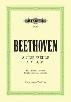 BEETHOVEN - An Die Freude - Partition - di-arezzo.com