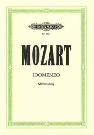 MOZART - Idomeneo K 366 - Partition - di-arezzo.es