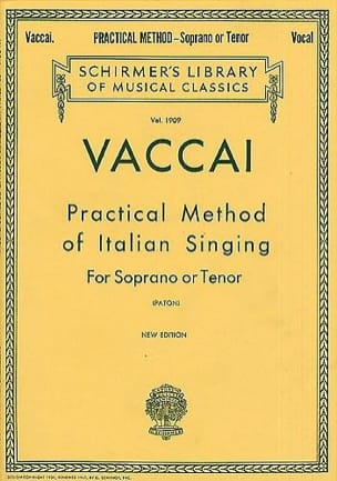 Practical Method Of Italian Singing. Voix Haute laflutedepan