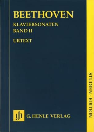 Sonates Pour Piano. Volume 2 BEETHOVEN Partition laflutedepan
