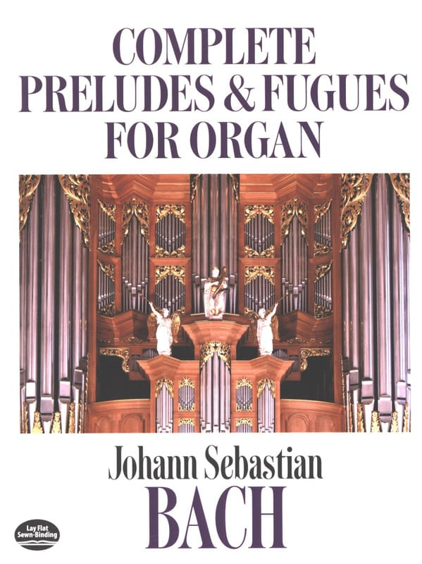 Complete Preludes and Fugues for Organ - BACH - laflutedepan.com