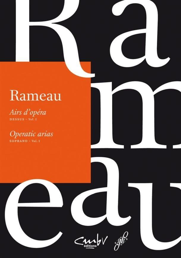 Airs d'opéra Dessus Volume 1 - RAMEAU - Partition - laflutedepan.com